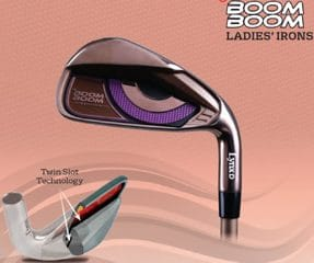 Ladies Boom Boom Iron 5